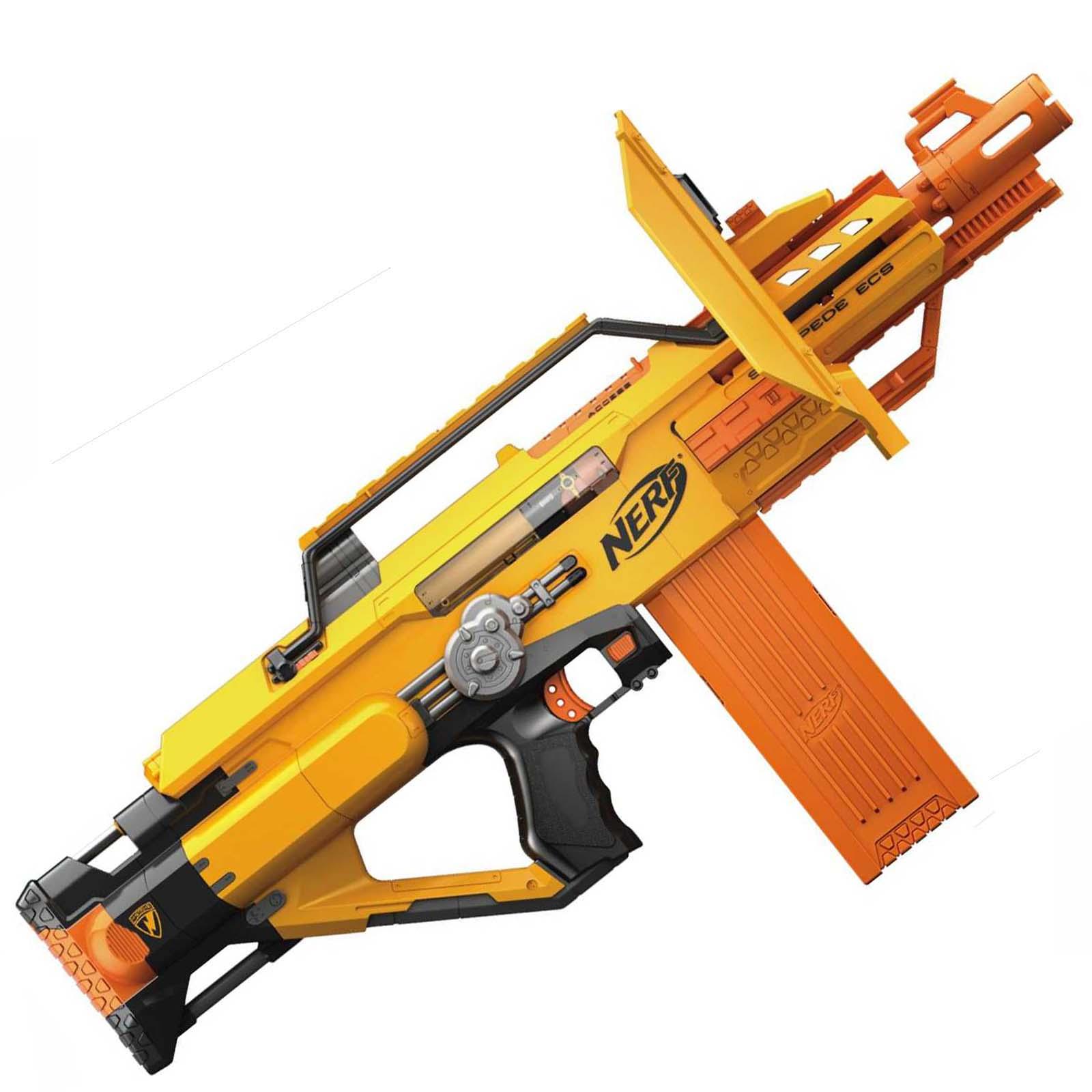 Stampede Ecs 50 N Strike Automatic Nerf Rifle Nerf Gun